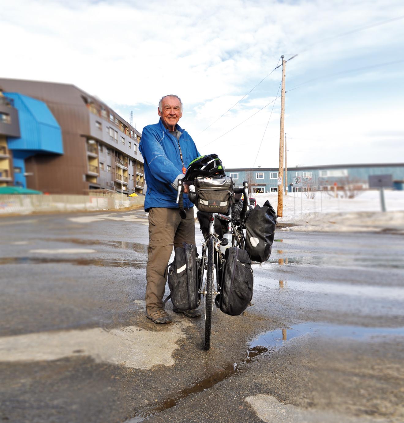 À 70 ans, Michel Beaudoin vit d'aventures et de dopamine
