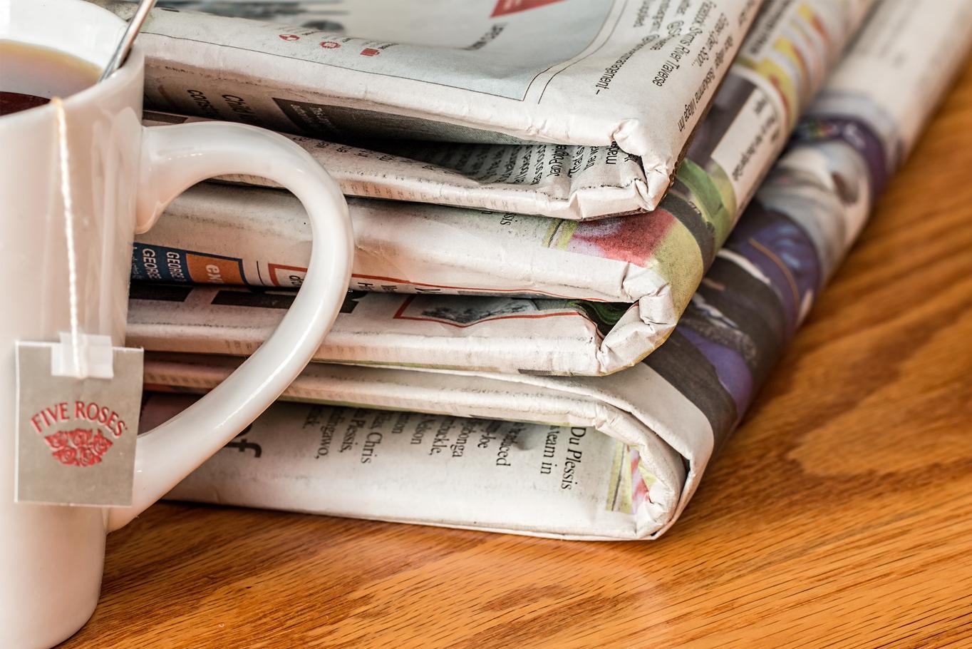 La tempête numérique frappe les journaux  de plein fouet