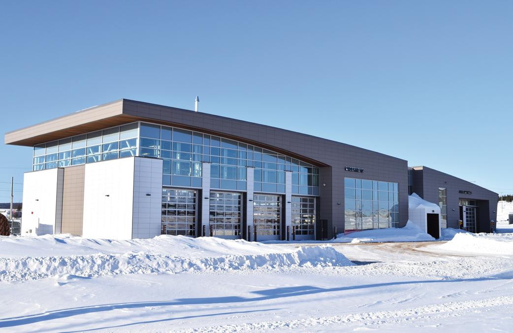 Un centre de mesures d'urgence adapté aux réalités nordiques