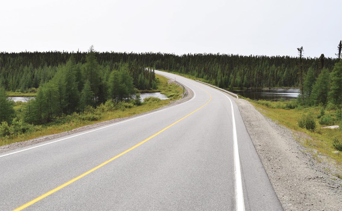 La route 510 se met à niveau