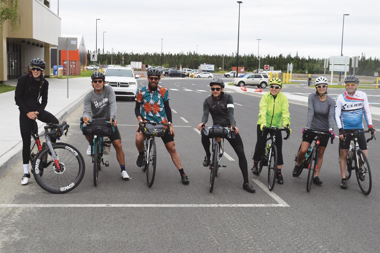 Documentaire à vélo