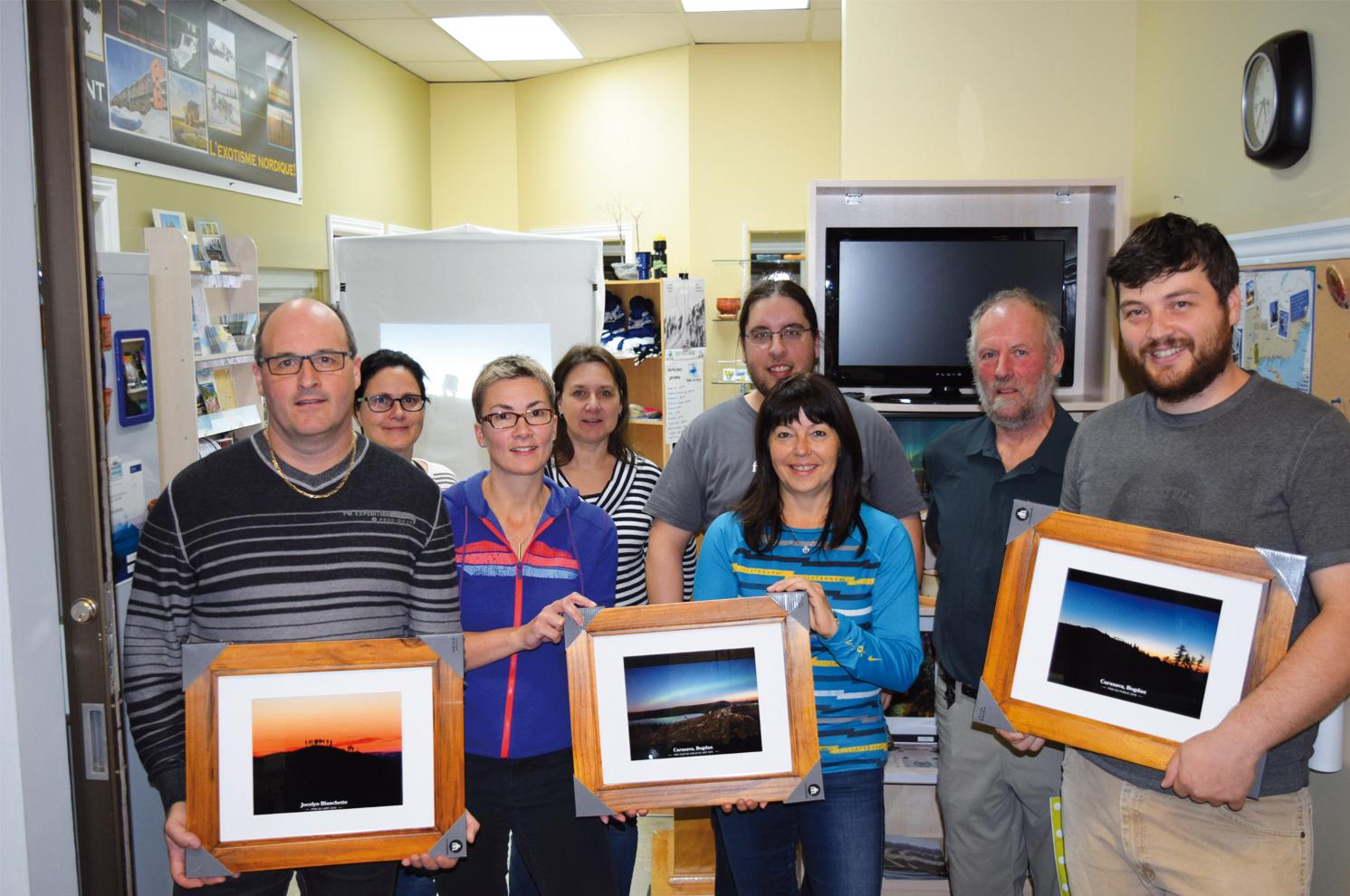 Dévoilement  des gagnants  du concours  photo