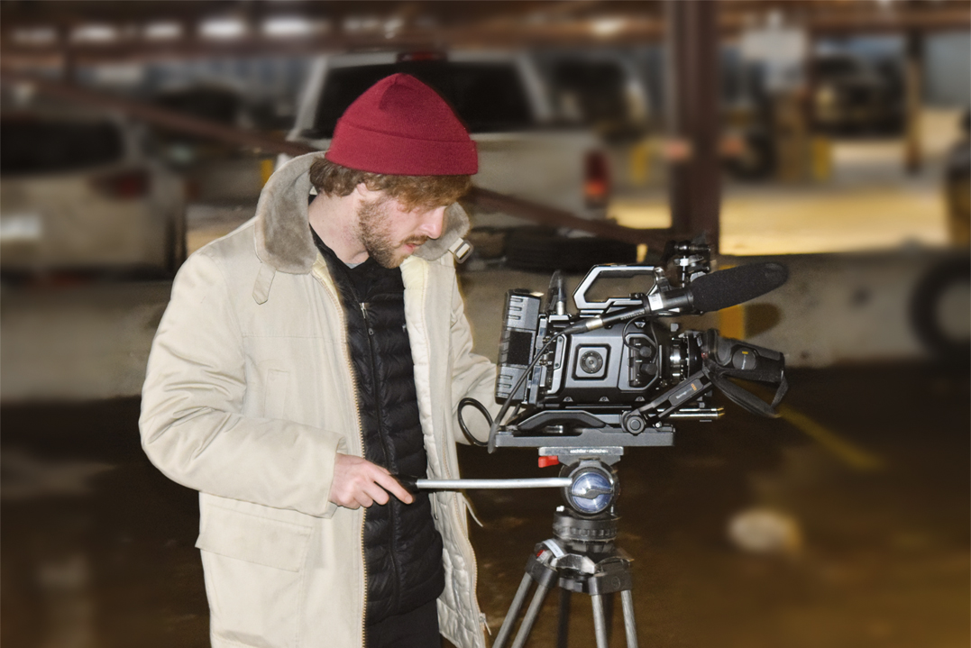 Une équipe de tournage croque des images pour un vidéoclip