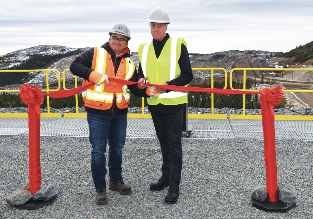 Inauguration de la mine Wabush 3