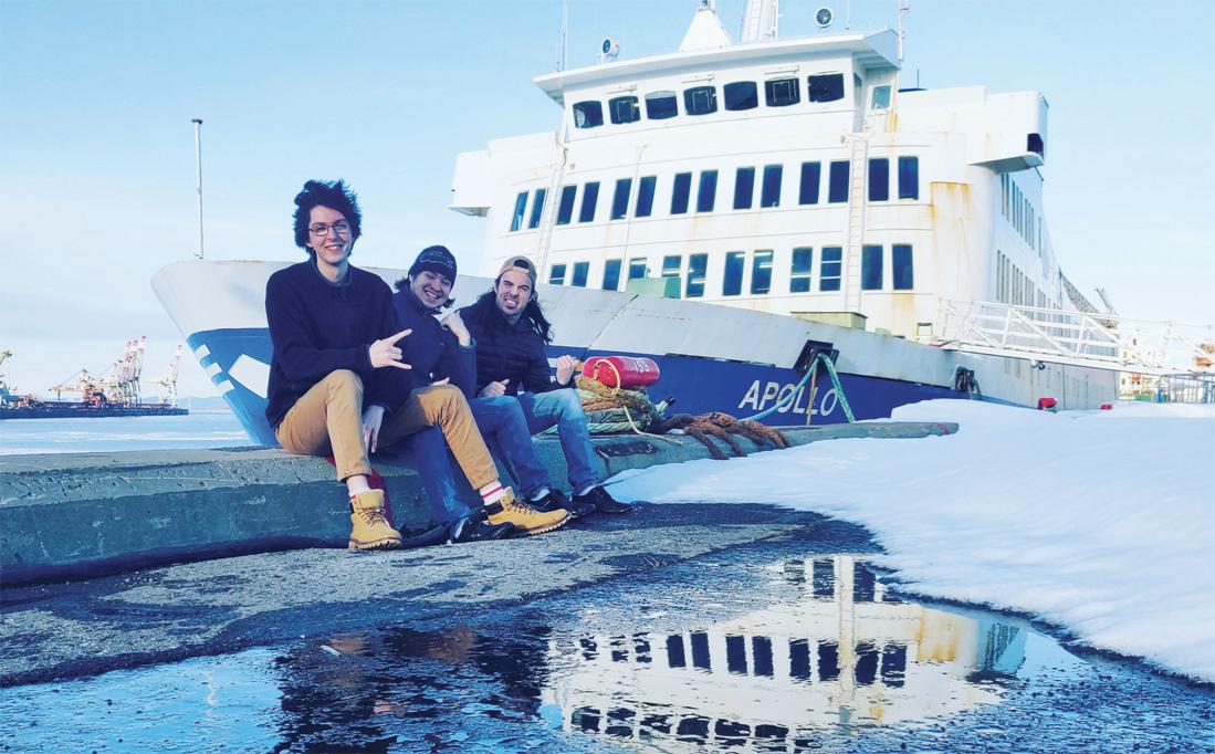 En Barque… sur le traversier