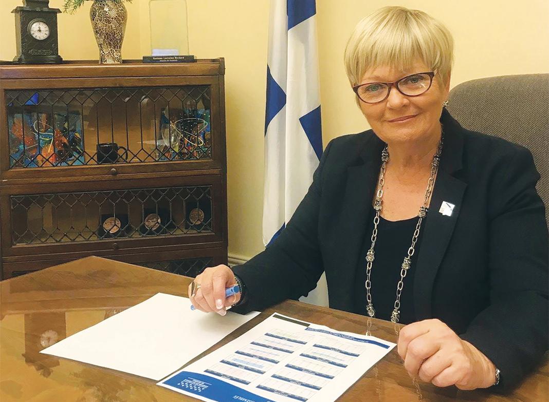 La députée Lorraine Richard se souvient