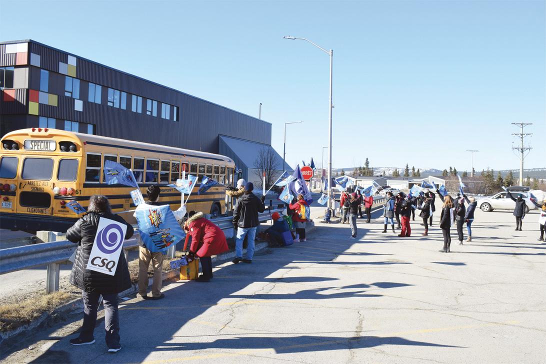 Première grève pour les enseignants