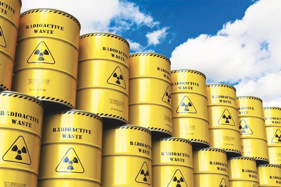 Le Labrador ciblé en cachette pour l'entreposage de déchets nucléaires